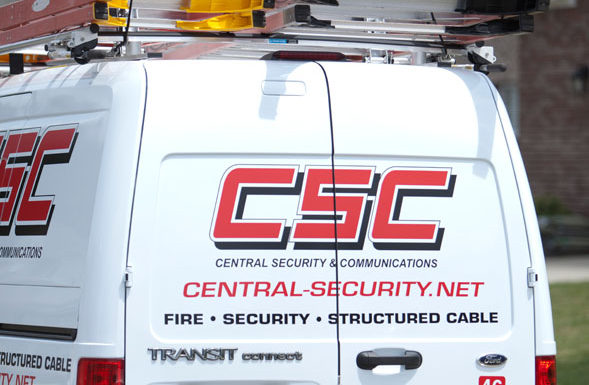 Central Security & Communications truck