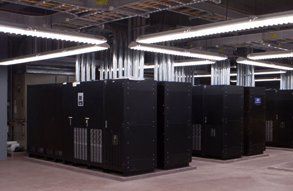 power grid in security monitoring center